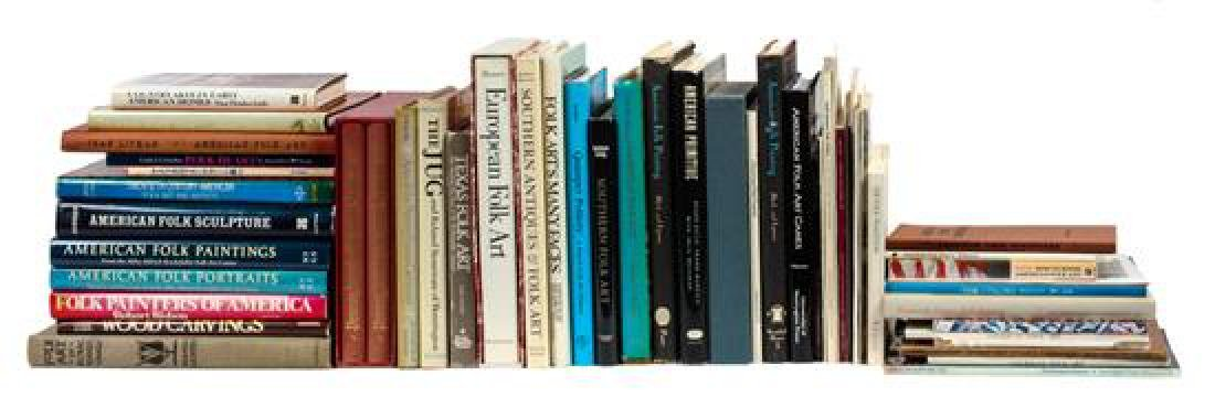 Group of Reference Books focused on Folk Art