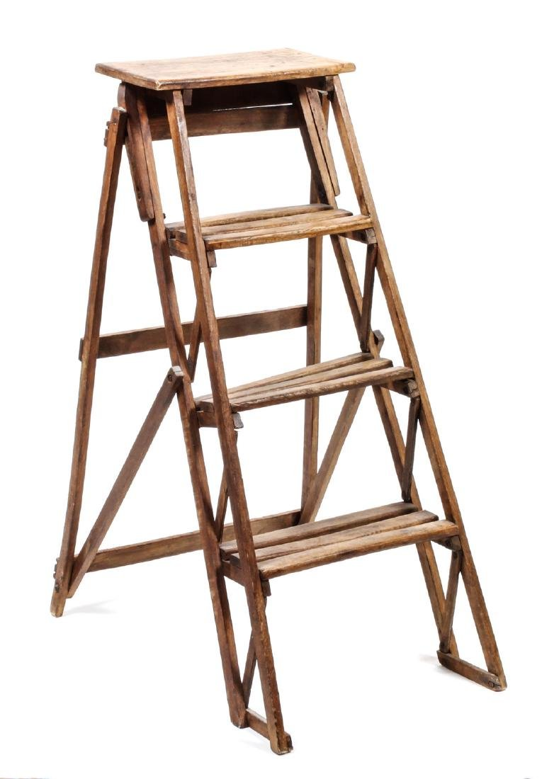 American Wood Ladder Height 40 1/2 x width 18 inches