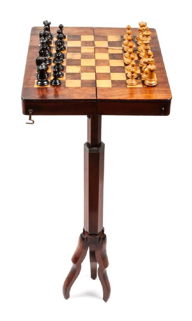 Vintage Wood Chess Box Height of box 1 5/8 x width 13