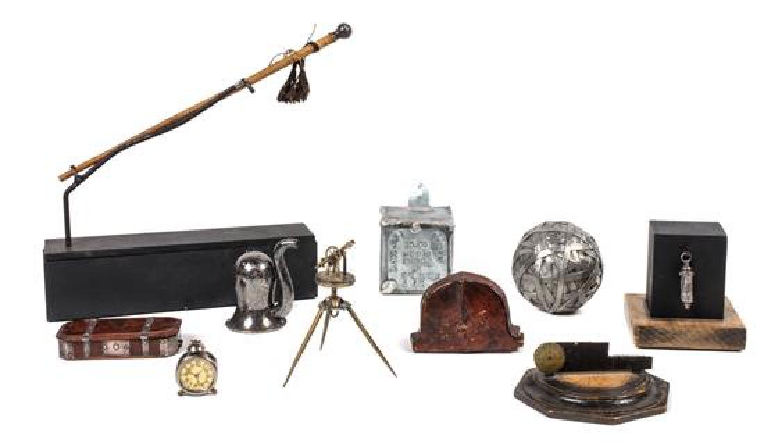 Group of Miniature Scientific Instruments Height of
