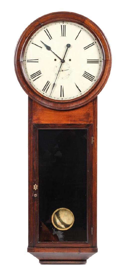 Oversized Wall Clock Height 58 1/2 x 22 inches