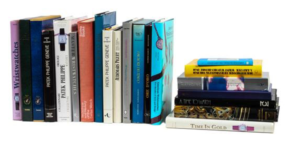 Group of Reference Books Pertaining to Watches