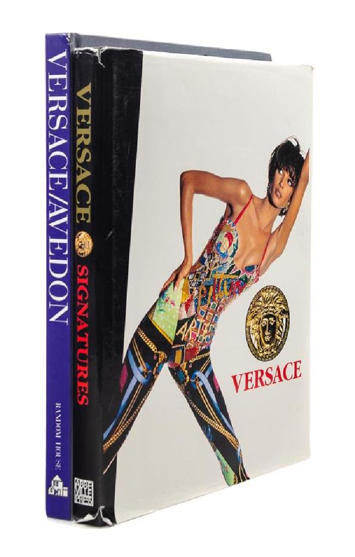 A Pair of Gianni Versace Books,