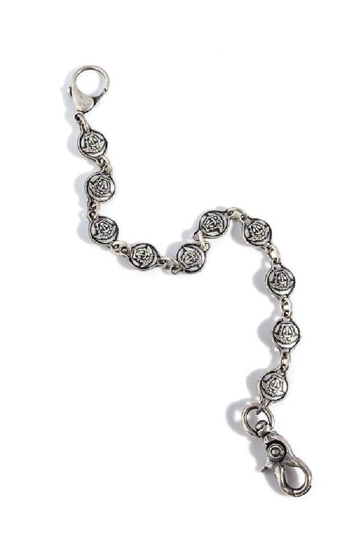 A Gianni Versace Medusa Medallion Pocket Chain,