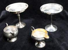 A Collection of Weighted Silver Table Articles