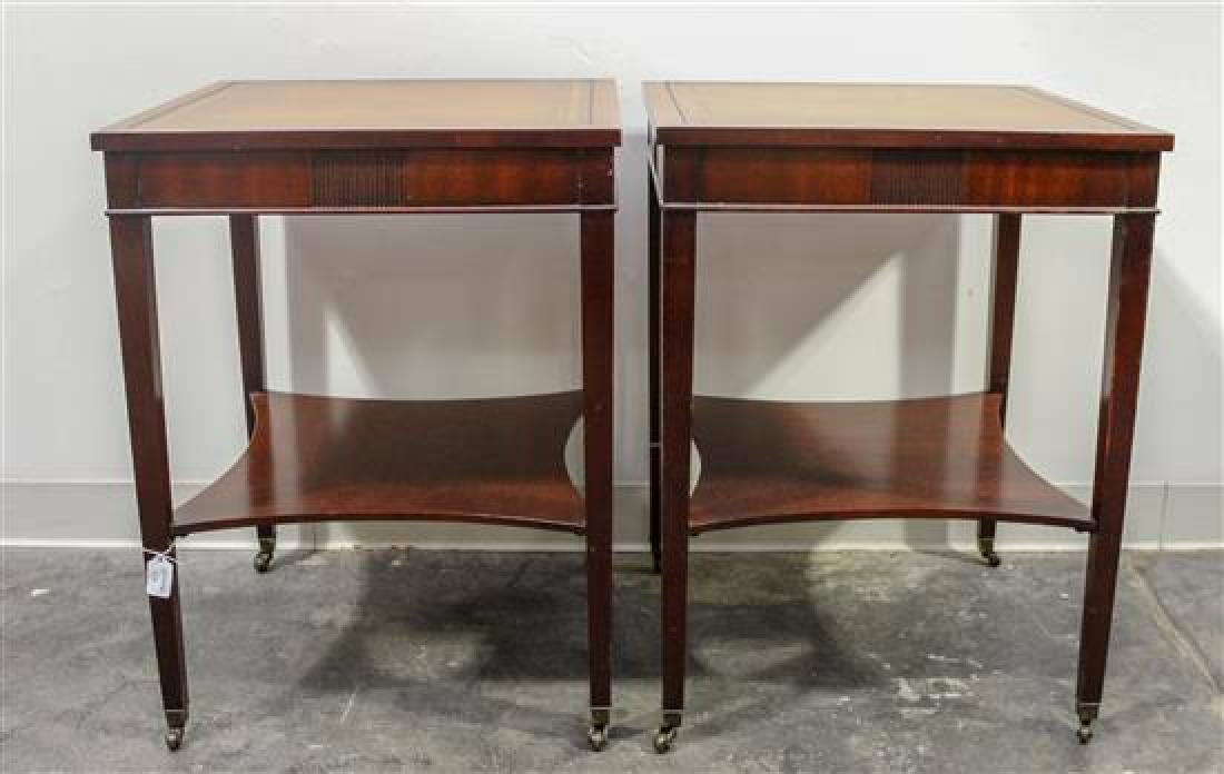 A Pair of Regency Style Side Tables