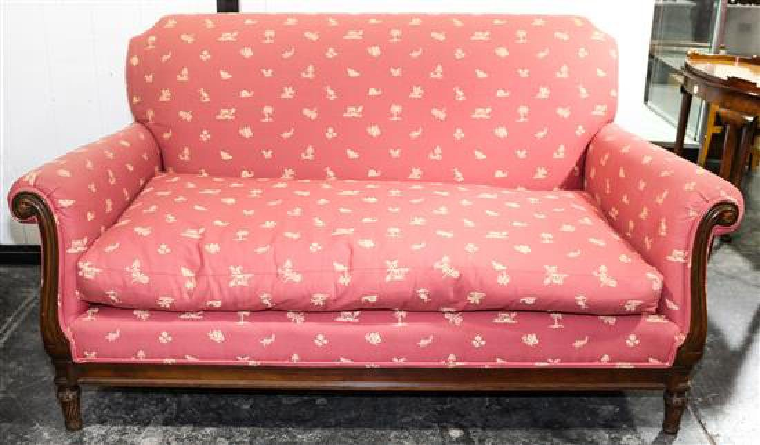 A Pair of Mike Bell Upholstered Sofas