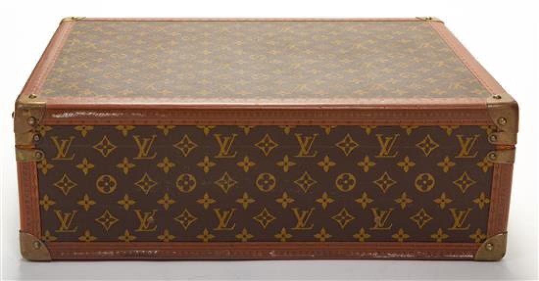 "A Louis Vuitton Monogram Canvas Bisten Suitcase, 14""H x - 3"