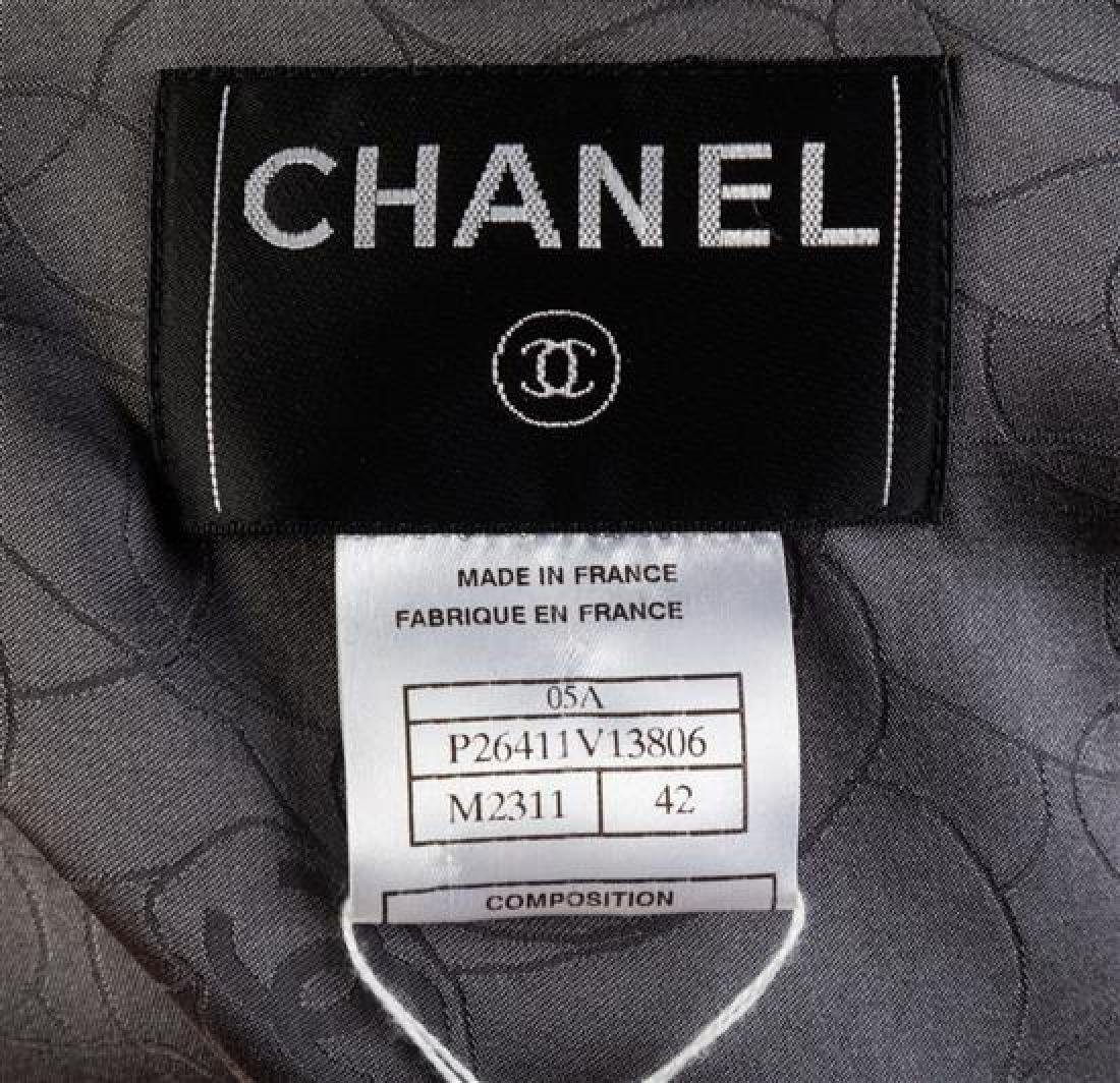 A Chanel Multicolor Wool and Cashmere Plaid Jacket Size - 2