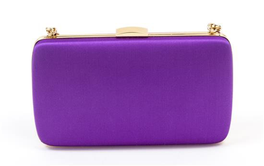 A Roberto Cavalli Purple Floral Embellished Halter - 5