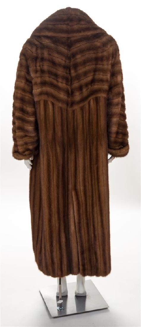 A Fendi Light Brown Mink Floor Length Coat, No size. - 2