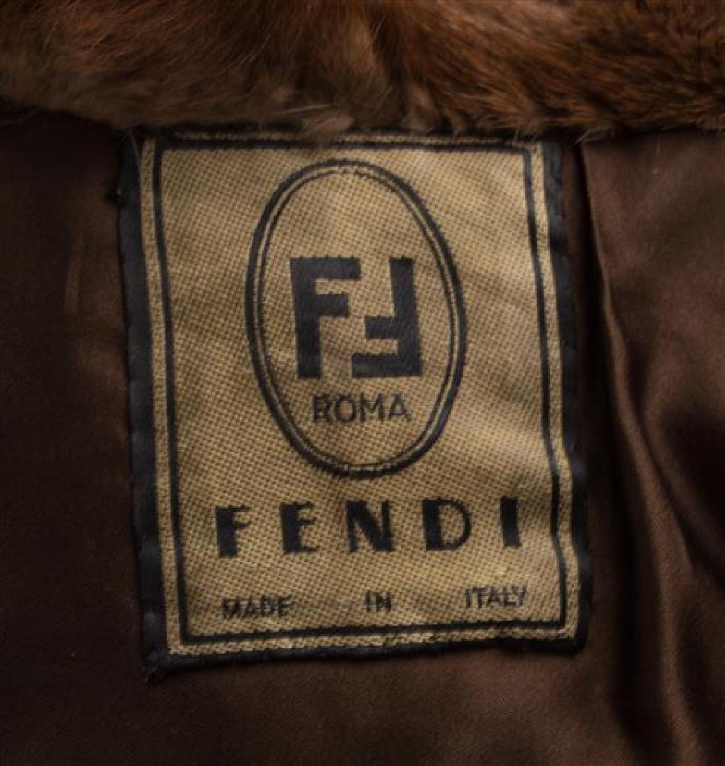 A Fendi Light Brown Mink Floor Length Coat, No size. - 3