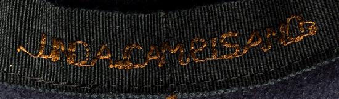 A Linda Campisano Navy Wool Hat, - 2