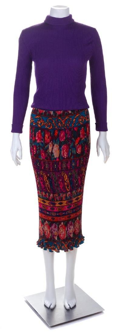 An Emanuel Ungaro Multicolor Jacket and Skirt Ensemble,