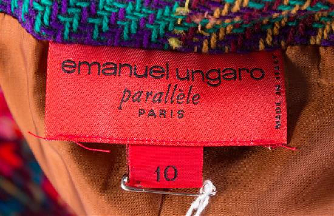 An Emanuel Ungaro Multicolor Jacket and Skirt Ensemble, - 3