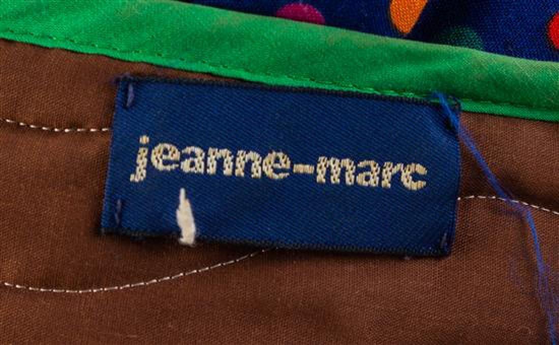 * A Jeanne-Marc Multicolor Cotton Top, No size. - 2
