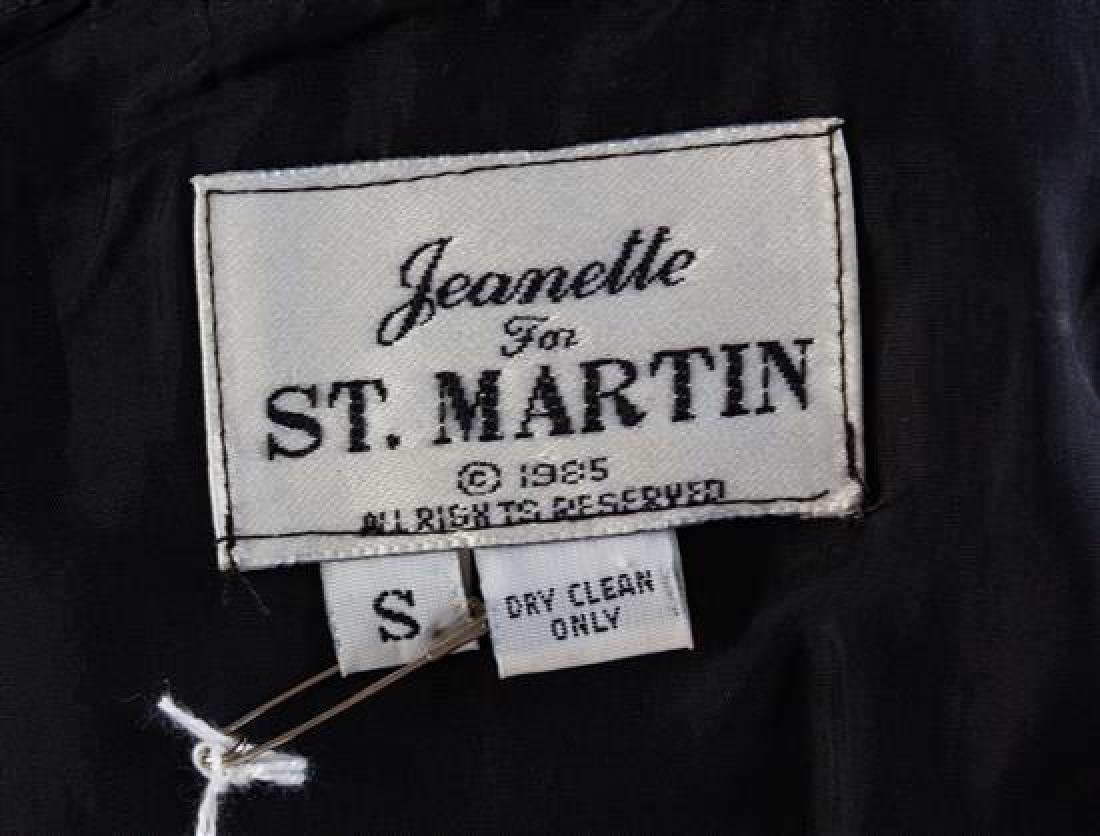 "* A Jeanette for St. Martin Black ""Key"" Jacket, Size - 2"