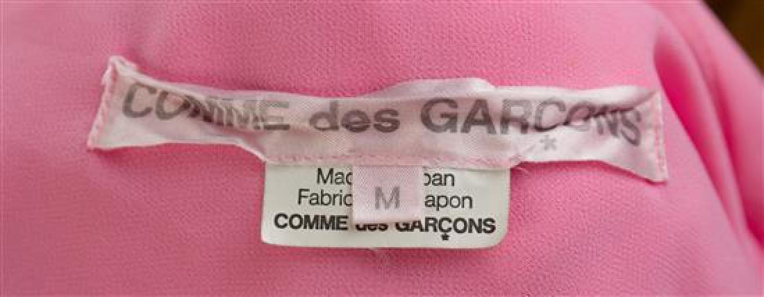 * A Comme des Garcons Pink Silk Blouse, Size medium. - 3