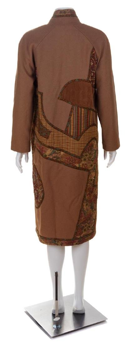 * A Koos Camel Wool Reversible Coat, No size. - 2