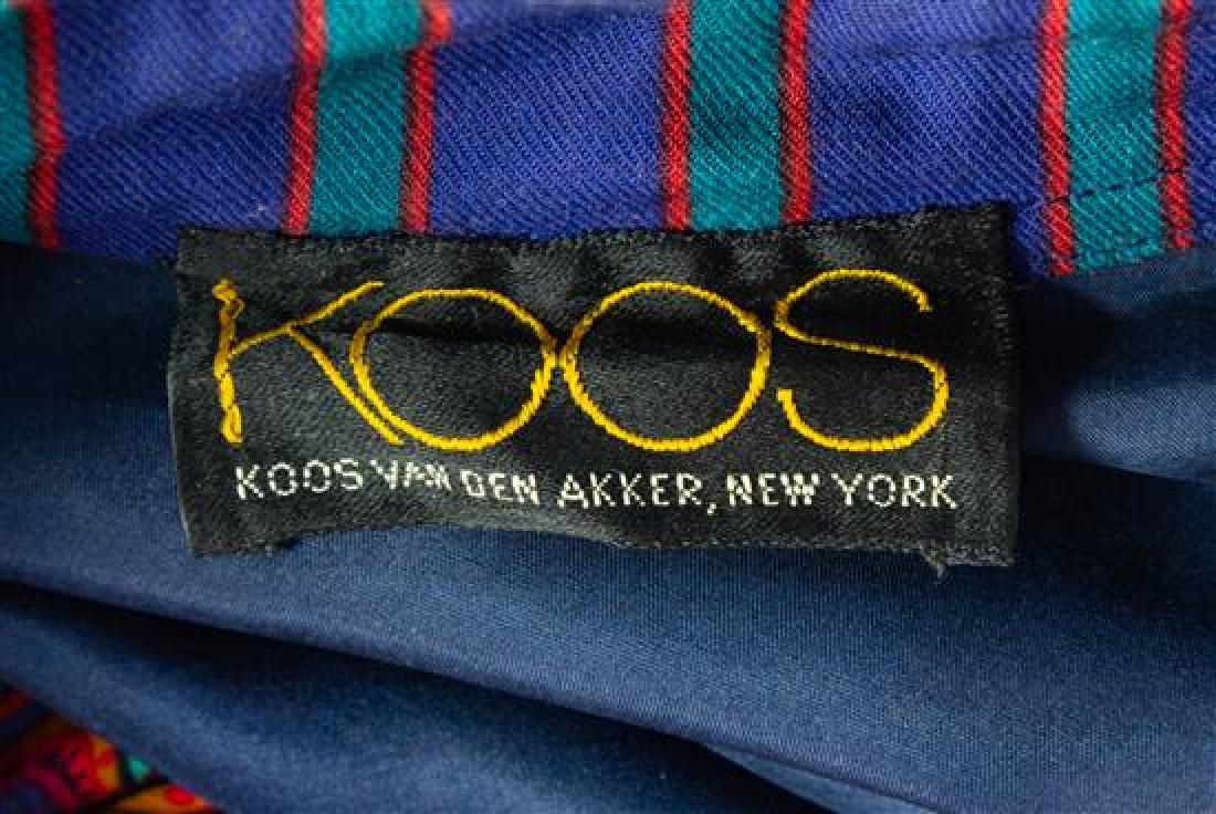 * A Koos Multicolor Cotton Floral Peasant Dress, No - 2