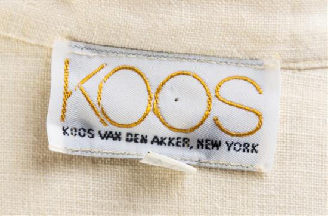 * A Koos Cream Linen Blouse, Size small. - 2