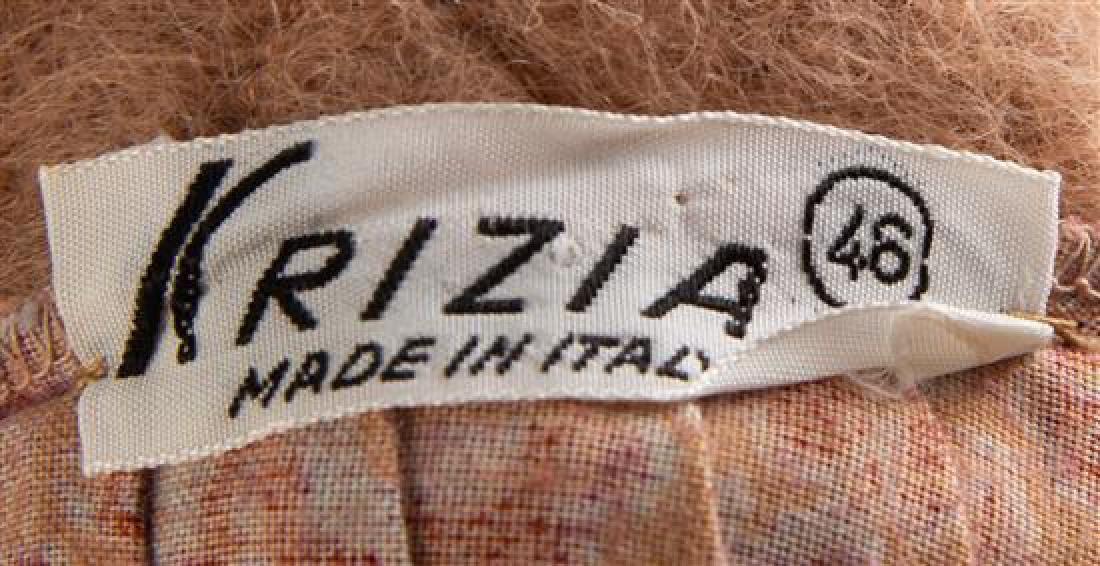 A Krizia Wrap Peasant Pleated Skirt, Skirt size 46; - 2