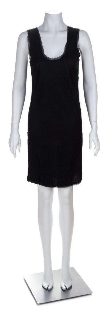 A Lanvin Black Dress Ensemble, Dress size small; Jacket - 2