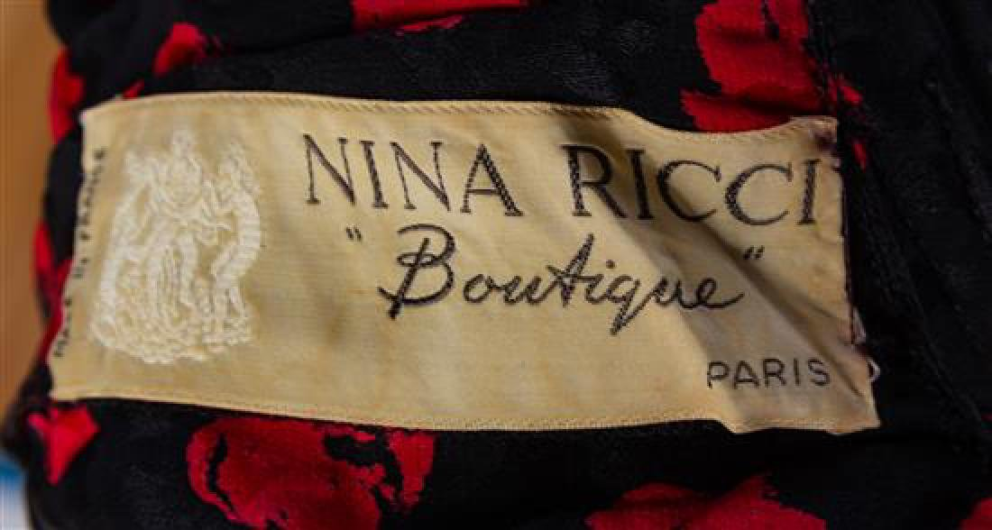 A Nina Ricci Black Wool Three Piece Skirt Suit, No - 3