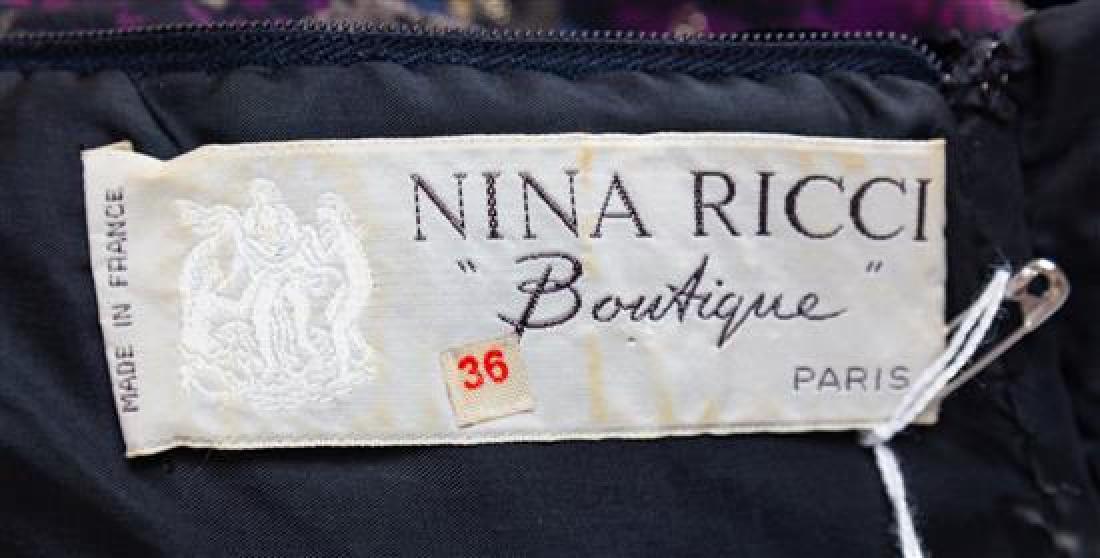 A Nina Ricci Multicolor Floral Dress, Size 36. - 2