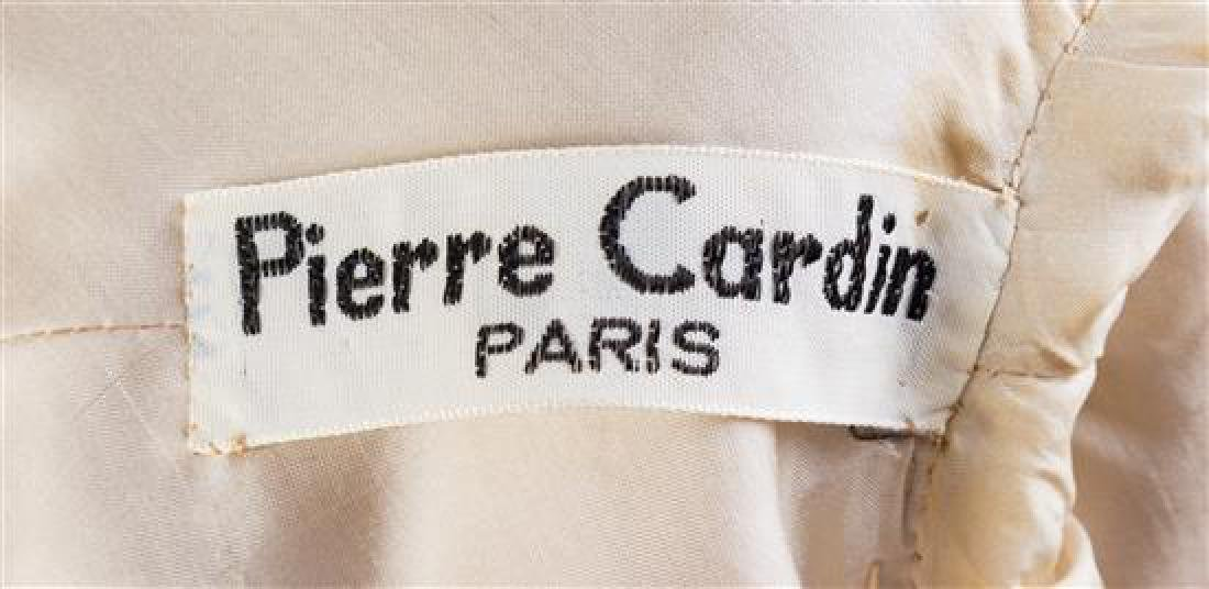 A Pierre Cardin Cream Wool Double Breasted Jacket, No - 2