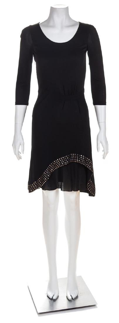 A Roberto Cavalli Black Dress, No size.