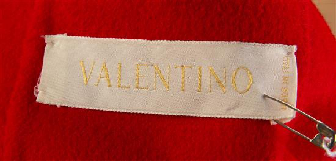 A Valentino Red Wool Bolero Jacket, No size. - 3