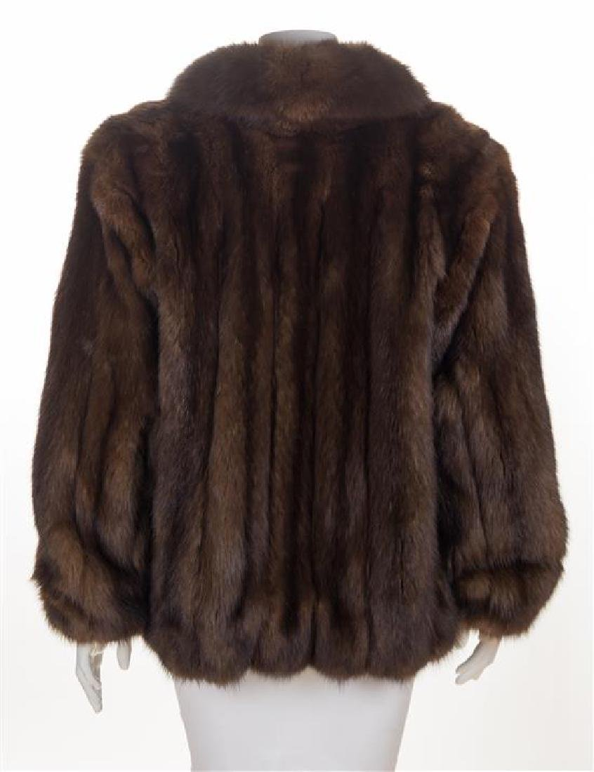 * A Brown Sable Jacket, No size. - 2