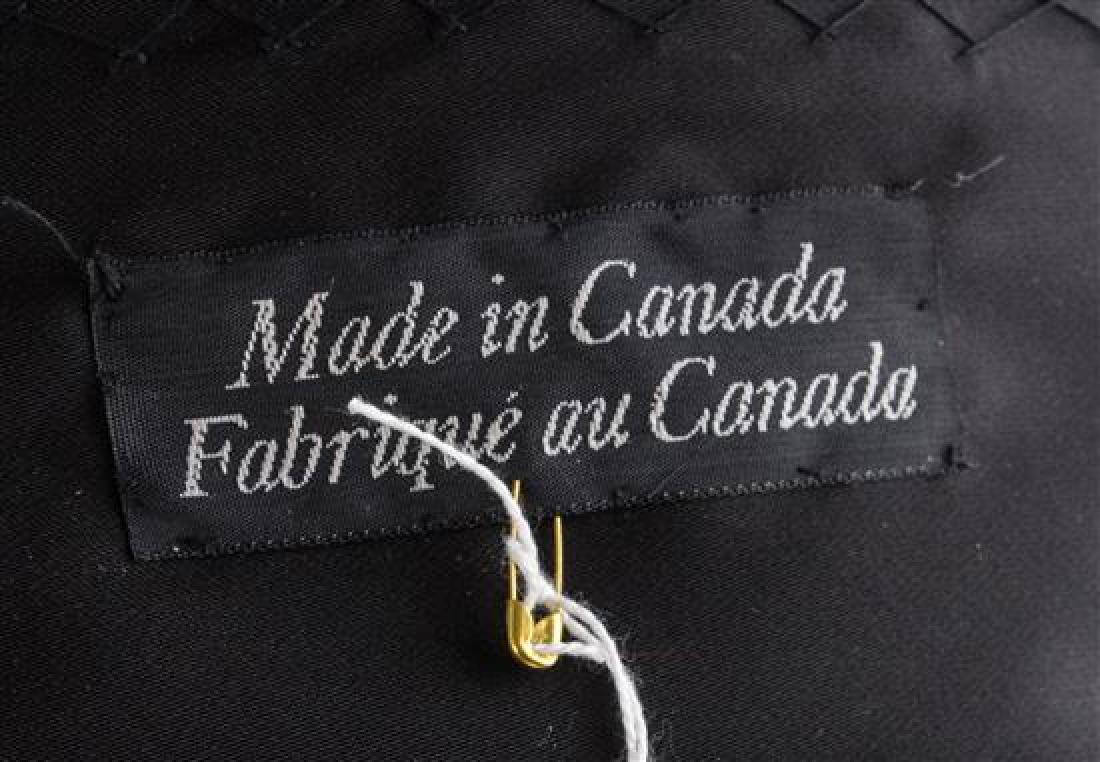 A Blue Mink Sheared Jacket, No size. - 2