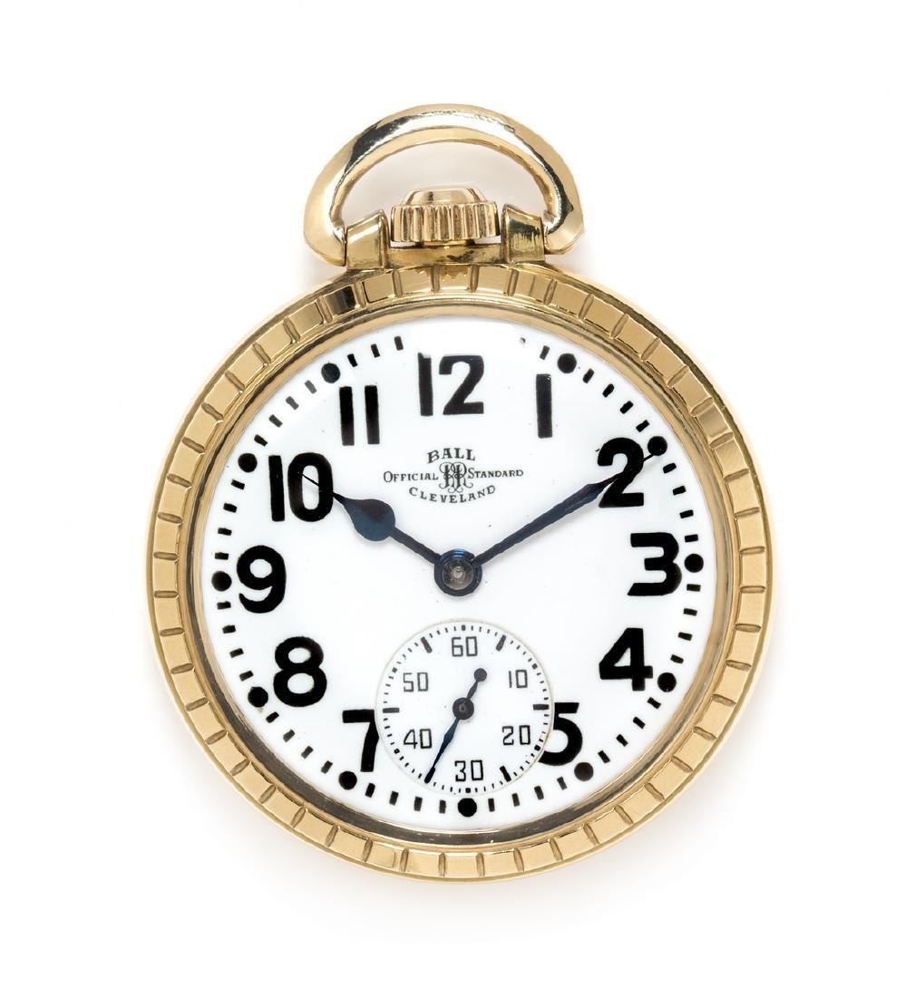 *An Open Face 'Official RR Standard' Pocket Watch