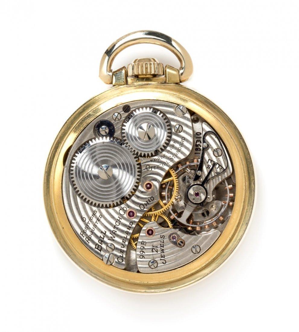 *An Open Face 'Official RR Standard' Pocket Watch - 3