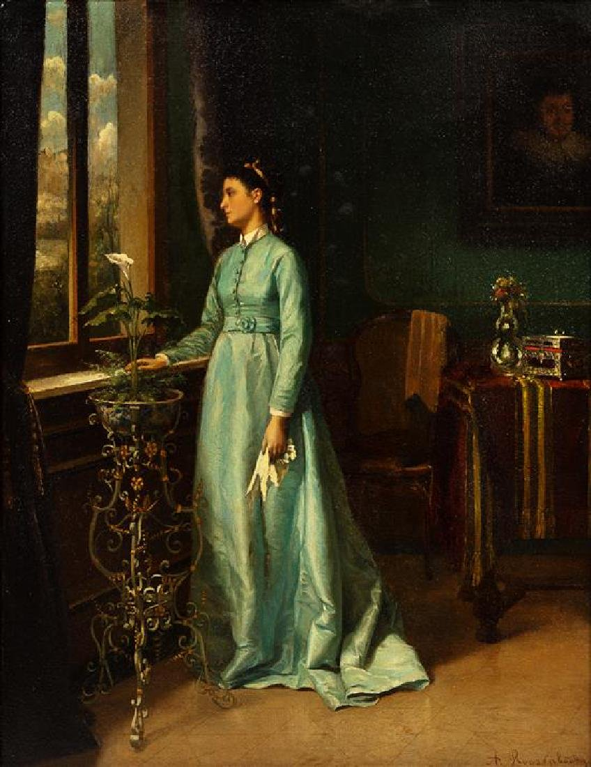 Albert Roosenboom, (Belgian, 1845–1873), Portrait of a