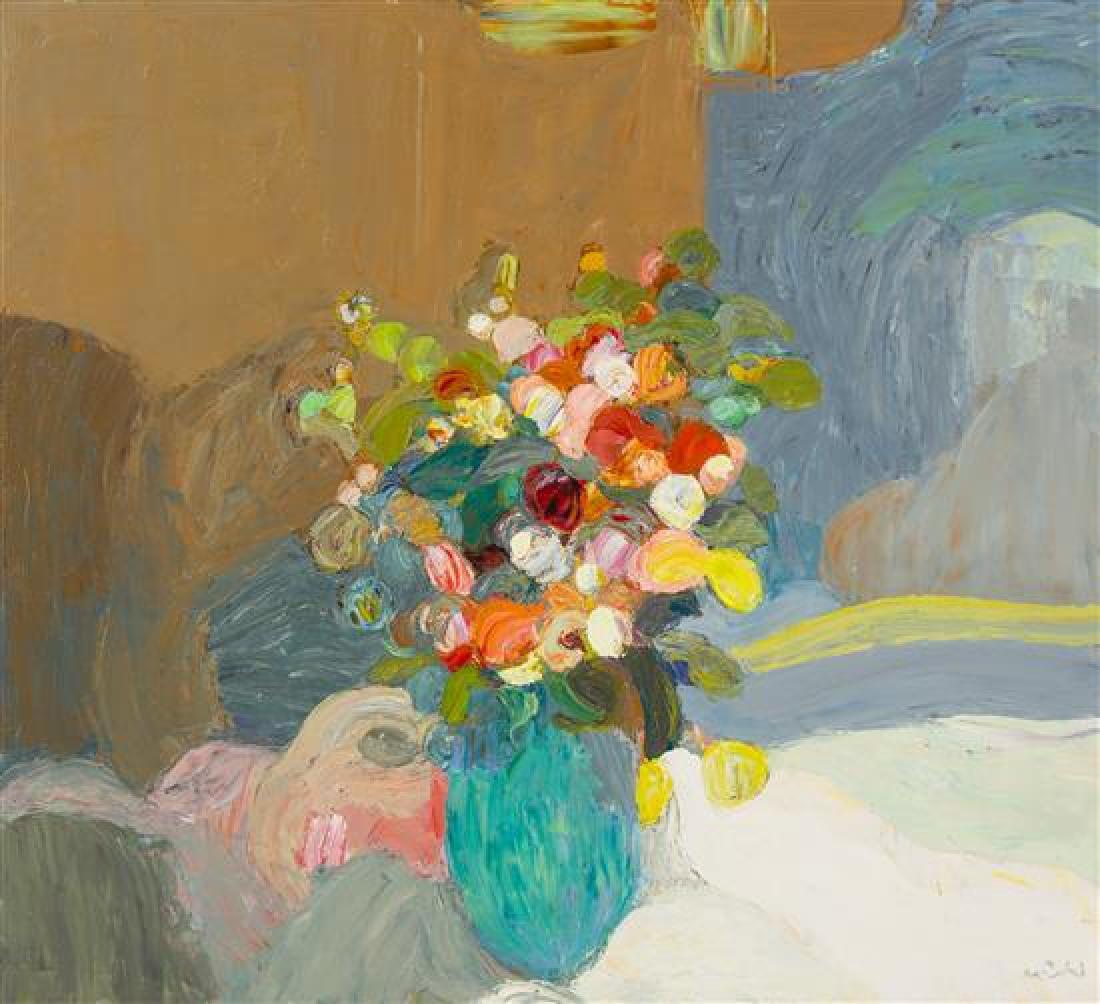Roger Mühl, (French, 1929-2008), Bouquet de roses
