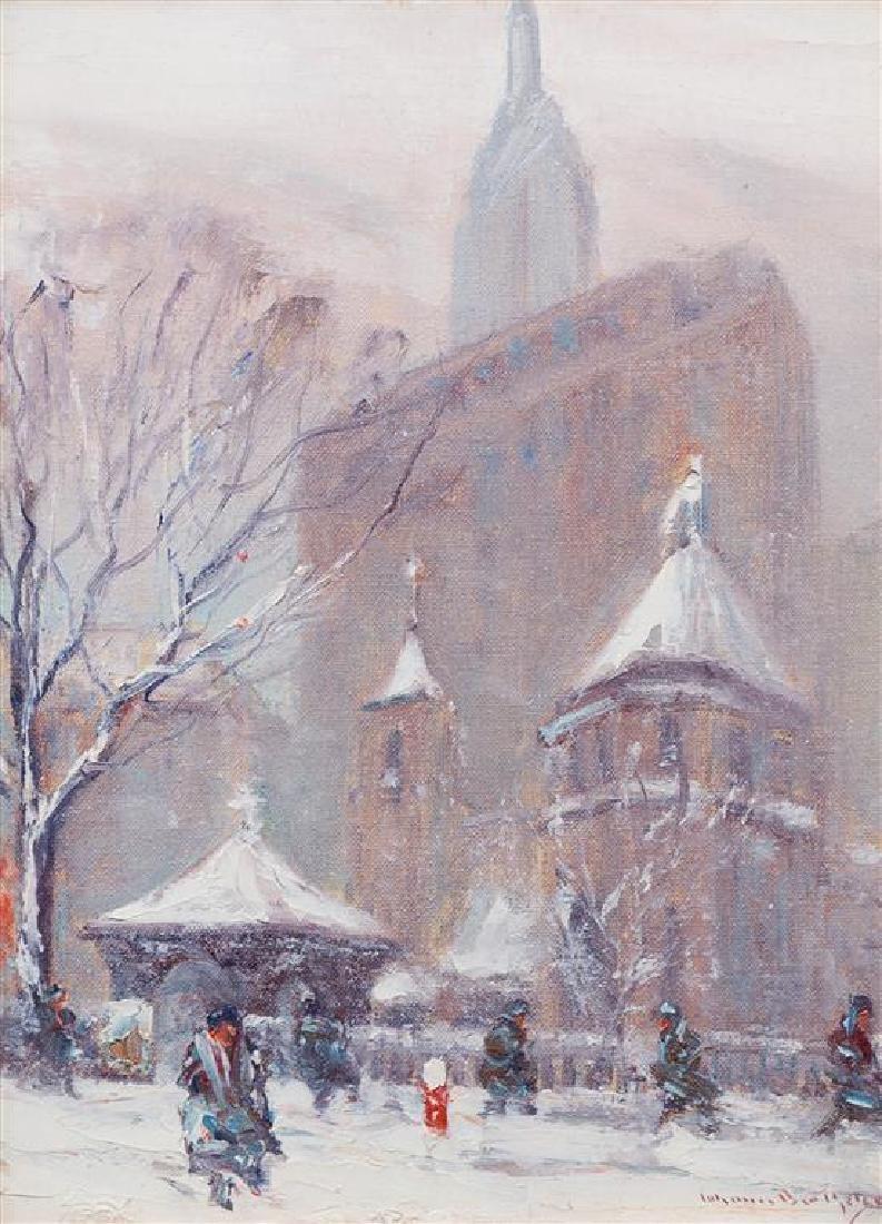 Johann Berthelsen, (American, 1883-1972), Parisian