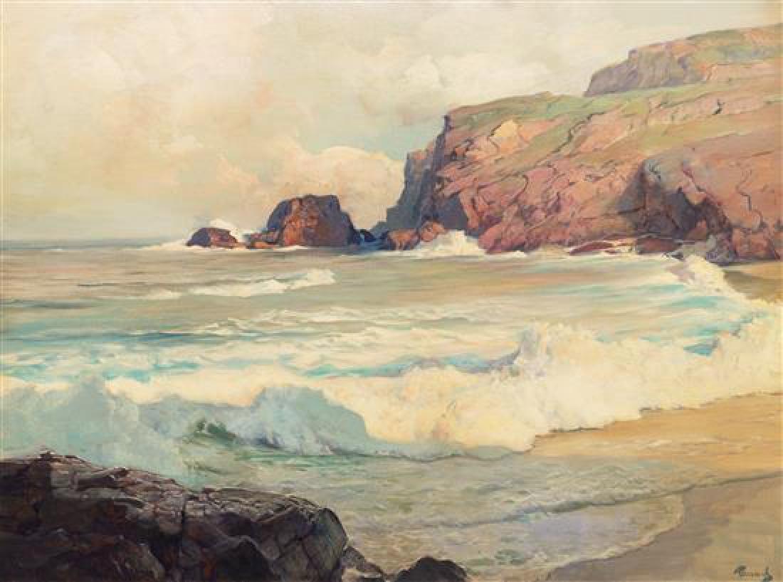 Frederich Judd Waugh, (American, 1861-1940), Land