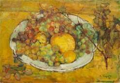 Andre Vignoles, (French, 1920-2017), Still Life, 1956