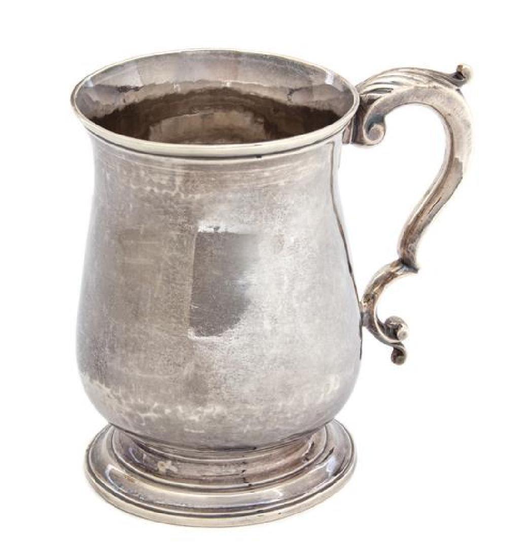 A George III Silver Cann, Thomas Wynne, London,