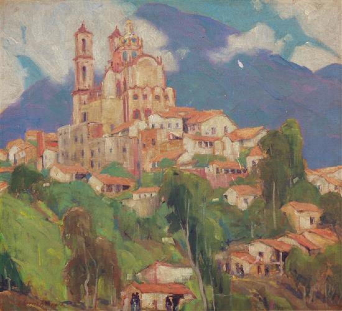 Charles Kilgore, (American, 1889-1979), Hillside