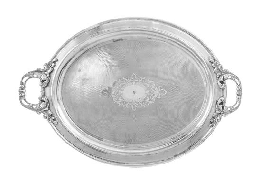 * An Ottoman Empire Silver Serving Tray, Reign of