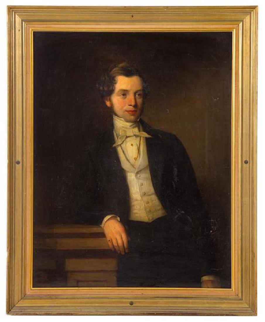 British School, (19th Century), Portrait of a Gentleman