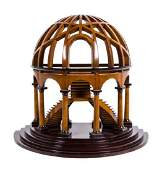 An English Wood Architectural Model Height 16 x width