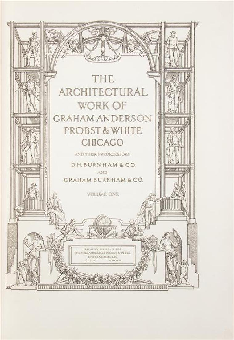 [GRAHAM ANDERSON PROBST & WHITE]. The Architectural