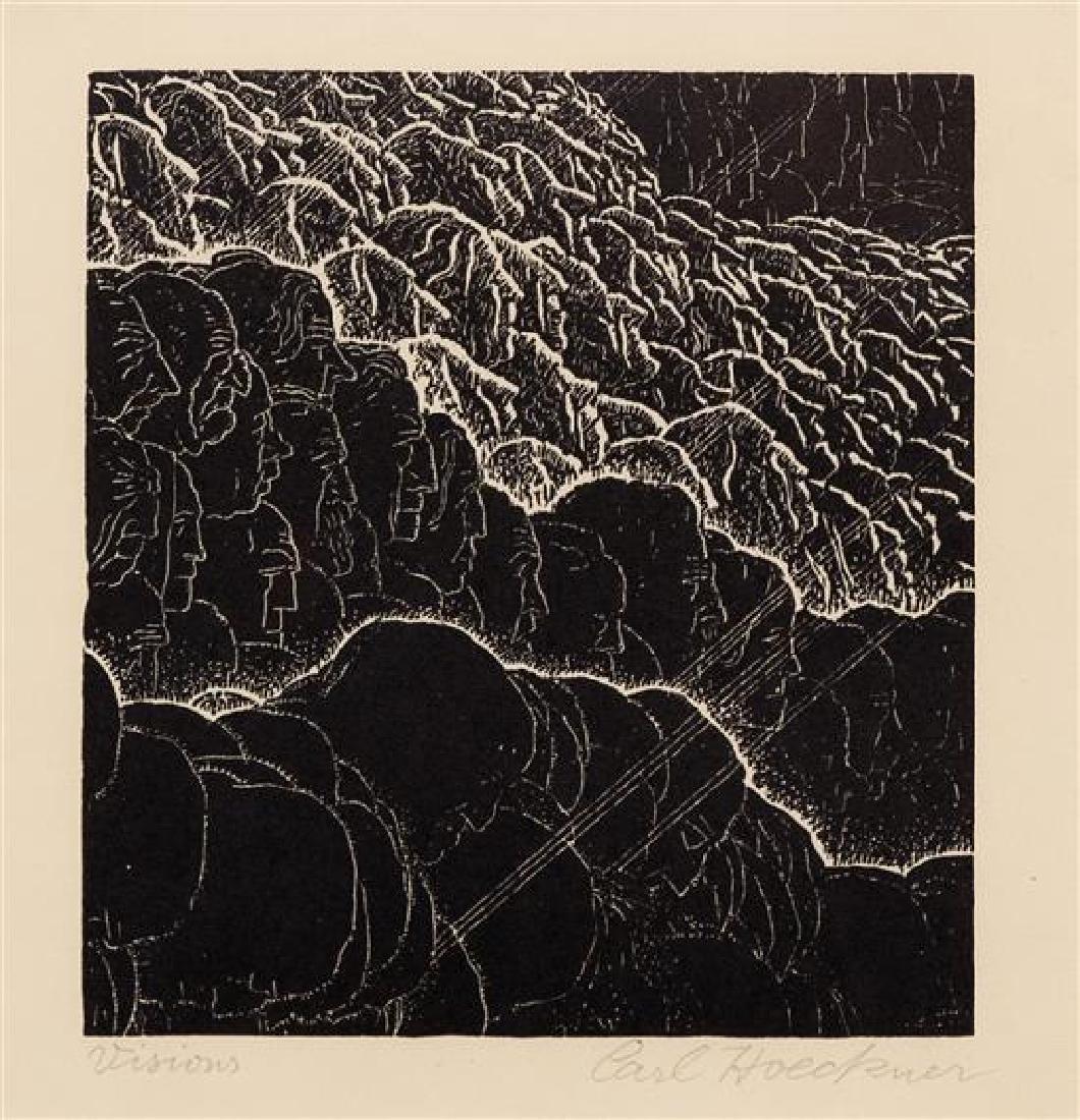 Carl Hoeckner, (American, 1885-1955), Visions