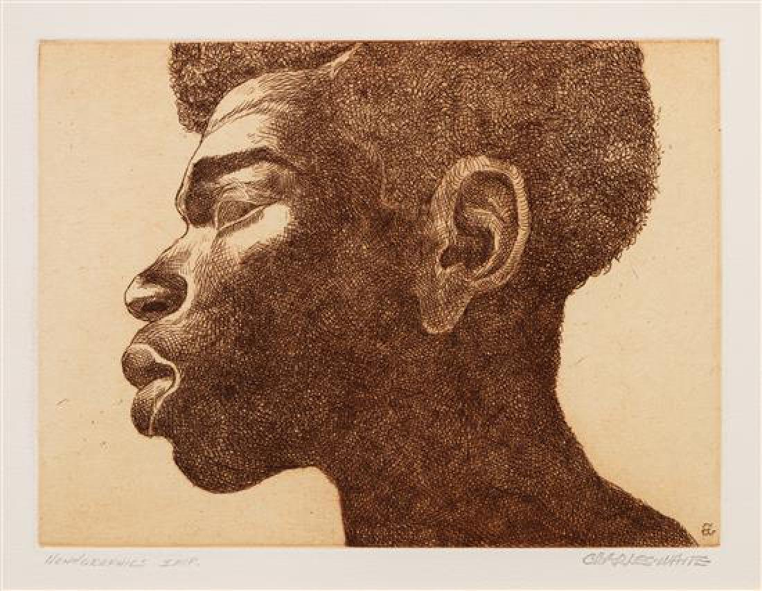 Charles White, (American, 1918-1979), Untitled