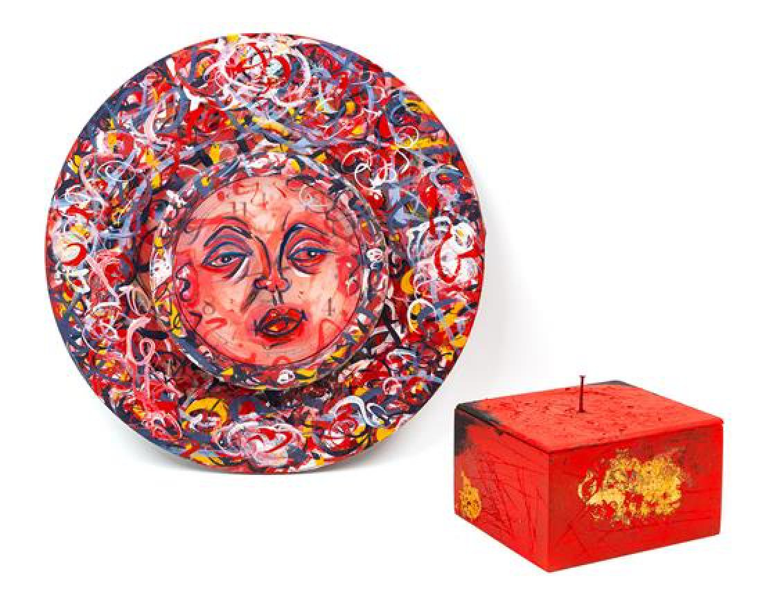 * Linda Kramer, (American, b. 1937), Box, 2007,